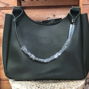 NEIMAN MARCUS SAGE GREEN TOTE